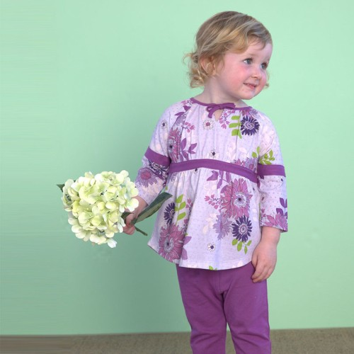 DB1798 davebella baby printed clothing sets