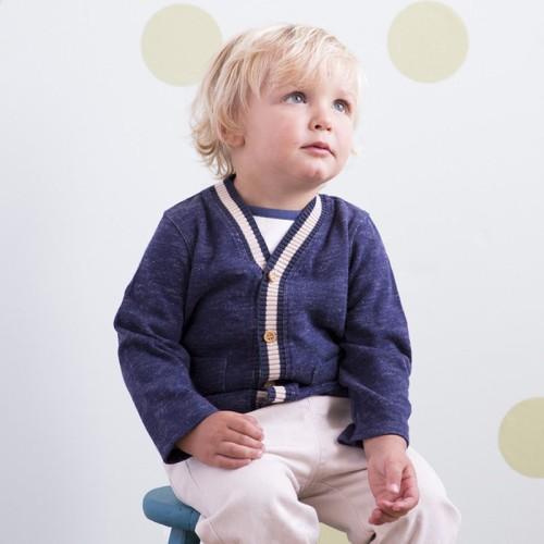 DB1881 davebella baby knitted coats