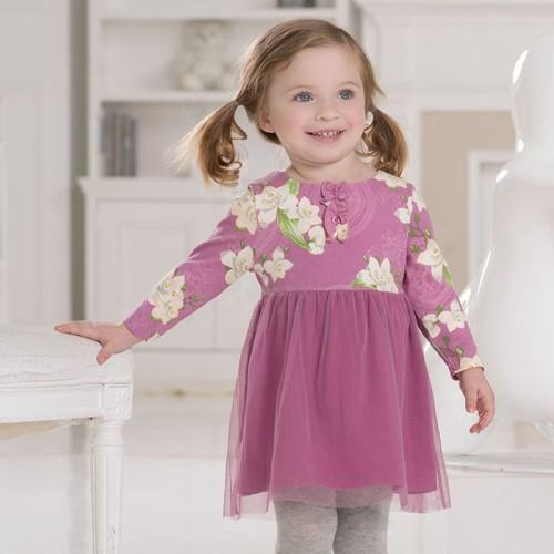 DB1513 davebella baby dress girl clothes