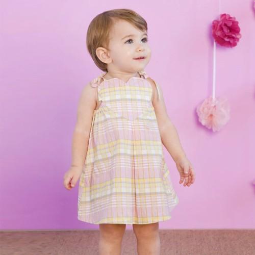 DB1674 davebella baby girl braces skirts