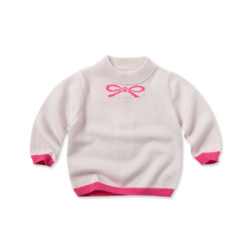 DB1823 davebella baby printed sweater
