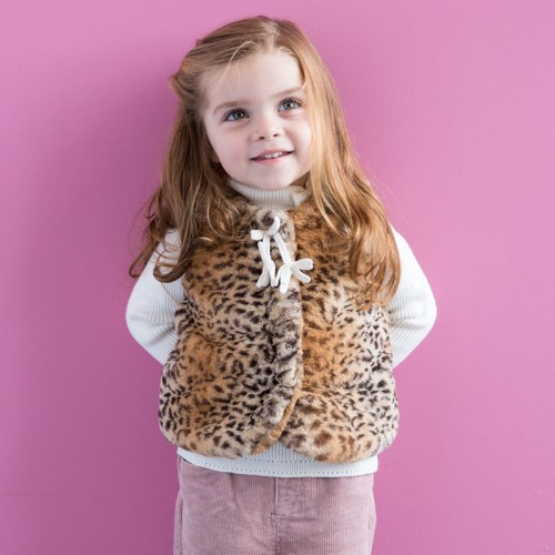 DB1587 davebella baby girl vest