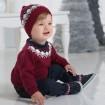 DB1221 davebella baby knitted hats